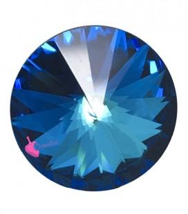 Rivoli Swarovski® 1122 12 mm Crystal Bermuda Blue (2 pezzi)