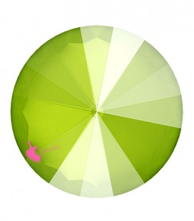 Rivoli Swarovski® 1122 12 mm Crystal Lime (2 pezzi)