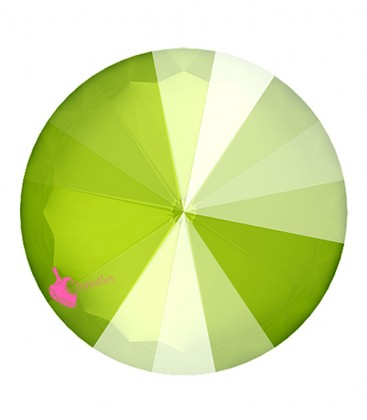 Rivoli Swarovski® 1122 12 mm Crystal Lime