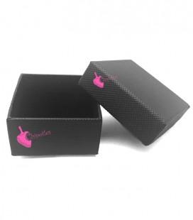 Scatola Regalo Bijoux 5x5 cm per Orecchini colore Nero