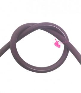 Cordoncino PVC Melanzana 4 mm Forato (1 metro)