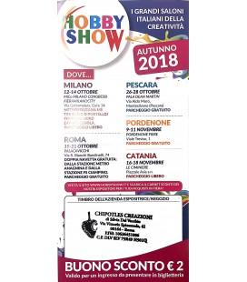 Sconto HOBBY SHOW Ottobre 2018