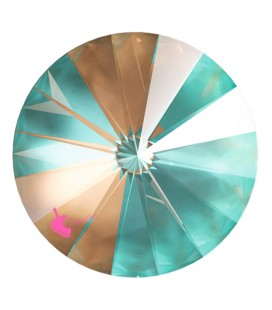 Rivoli Swarovski® 1122 12 mm Crystal Cappuccino DeLite (2 pezzi)