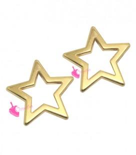 Ciondolo Stella 19 mm colore Oro