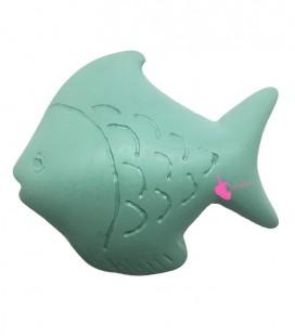 Perle Pesce Resina 50x42 mm colore Turchese Opaco