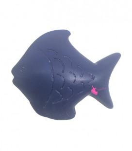 Perla Pesce Resina 50x42 mm colore Blu Opaco