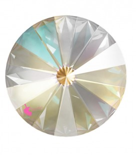 Rivoli Swarovski® 1122 12 mm Crystal Light Grey DeLite (2 pezzi)