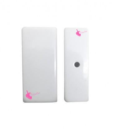 Perla Rettangolare Resina 34x27 mm colore Bianco