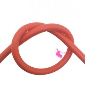 Cordoncino PVC Arancio 4 mm Forato