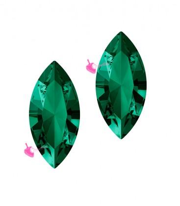 Navette Swarovski® 4228 15x7 mm Emerald