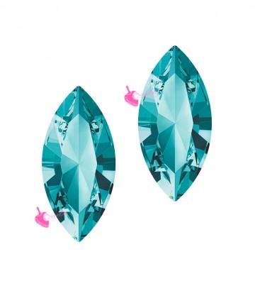 Navette Swarovski® 4228 15x7 mm Light Turquoise