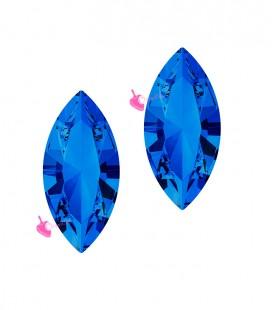 Navette Swarovski® 4228 15x7 mm Sapphire