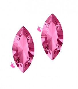 Navette Swarovski® 4228 15x7 mm Rose