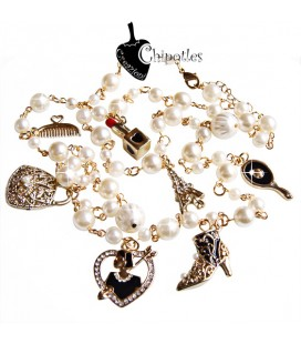 Collana con Charms Fashion & Beauty