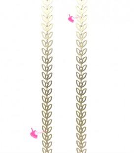 Catena Spina di Pesce Oro Opaco (50 cm)