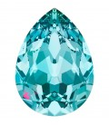 Goccia Swarovski® 4320 18x13 mm Light Turquoise Foiled