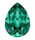 Goccia Swarovski® 4320 18x13 mm Emerald Foiled