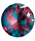 Chaton Swarovski® 1088 SS39 8 mm Crystal Burgundy Delite (6 pezzi)