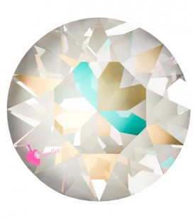 Chaton Swarovski® 1088 SS39 8 mm Crystal Light Grey Delite (6 pezzi)