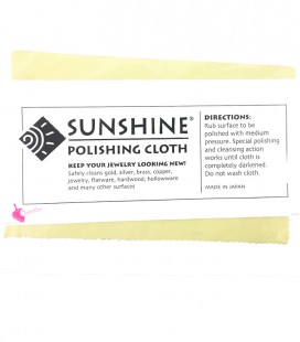 Panno per Pulire Bigiotteria e Gioielli Sunshine Polishing Cloth