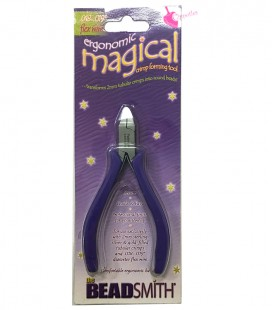 Pinza Magical Crimper Beadsmith® Pinza per Schiaccini Tubolari