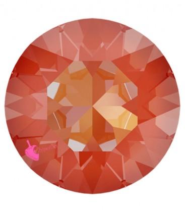 Chaton Swarovski® 1088 SS39 8 mm Crystal Orange Glow Delite (6 pezzi)