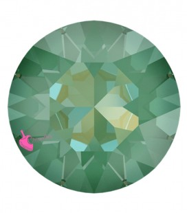 Chaton Swarovski® 1088 SS39 8 mm Crystal Silky Sage Delite (6 pezzi)