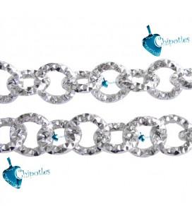 Catena Diamantata 10x10x2 mm Alluminio color Nichel