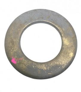 Cerchio Resina 52 mm (foro interno 30 mm) Grigio e Oro