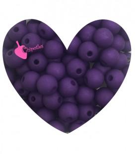 Perle Acrilico Opache 6 mm Dark Purple (100 pezzi)