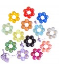 Perle Miste Fiore 26x27x9 mm (5 pezzi)