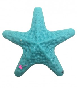 Perla Stella Marina Grande Resina 50x52 mm color Turches Chiaro