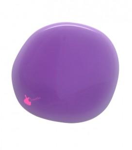Perla Piatta Grande Resina 59x62 mm Violetto