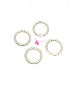 Anellini Apribili 5,6 mm Acciaio Inox colore Oro Chiaro (100 pezzi)