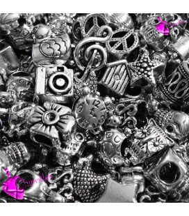 Perle Foro Largo Miste (40 pezzi)