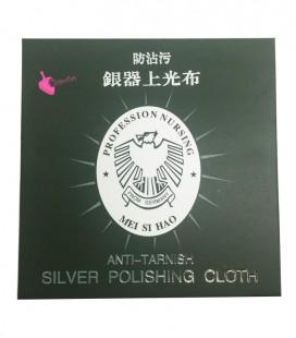 Anti-Tarnish Silver Polishing Cloth 78x78 mm