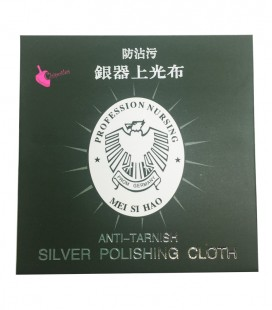 Panno per Pulire Gioielli Argento 78x78 mm
