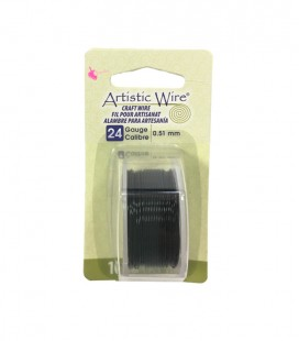 "Filo Nero Artistic Wire .020"" (0,51 mm) 9,14 metri"