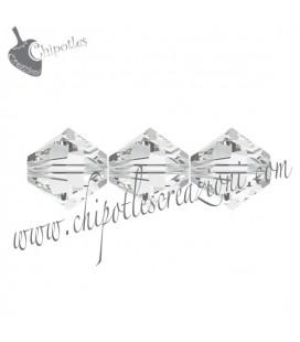 Biconi SW 5328 4 mm 001 Crystal (60 pezzi)