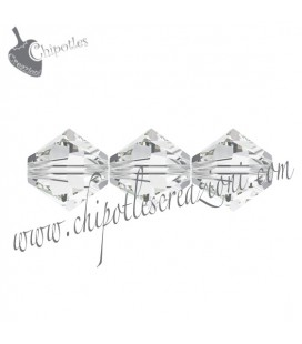 Biconi Swarovski 5328 4 mm 001 Crystal