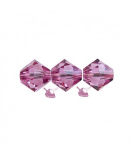Biconi Swarovski 5328 4 mm 209 Rose