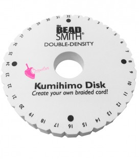umihimo Disk Doppio Spessore 20 mm Beadsmith®