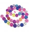 Filo Perle Smile Vari Colori Pasta Polimerica (40 pezzi)