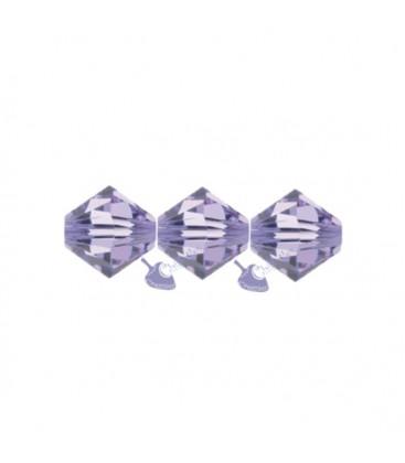 Biconi Swarovski 5328 4 mm 371 Violet