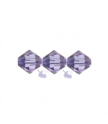 Biconi Swarovski 5328 4 mm 539 Tanzanite