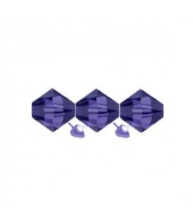 Biconi Swarovski® 5328 4 mm 277 Purple Velvet (60 pezzi)