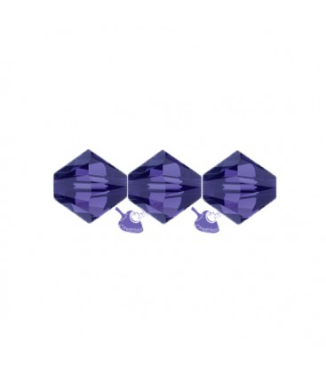 Biconi Swarovski® 5328 4 mm 277 Purple Velvet