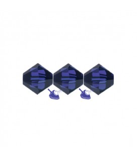 Biconi Swarovski® 5328 4 mm 288 Dark Indigo (60 pezzi)