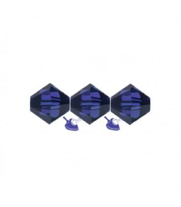 Biconi Swarovski® 5328 4 mm 288 Dark Indigo