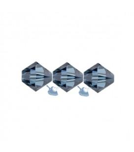 Biconi Swarovski® 5328 4 mm 207 Montana (60 pezzi)
